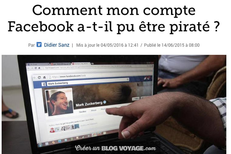 Attention à Facebook