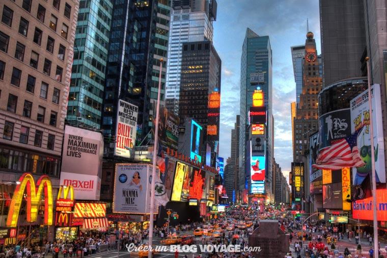 New York est évidemment en tête de liste quand on prévoit d'organiser un voyage aux Etats-Unis