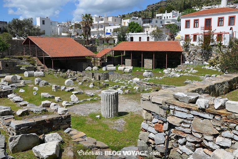 Le mausolée d'Halicarnasse était la cinquième des sept merveilles du monde. Halicarnasse est aujourd'hui la ville de Bodrum, au sud-ouest de la Turquie.
