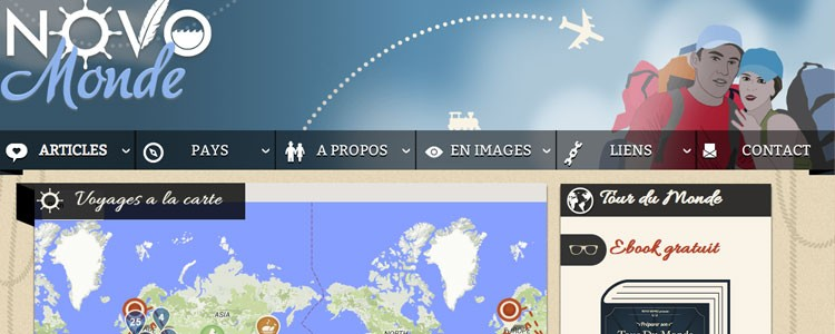 Le meilleur blog de voyage au monde est suisse !