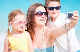 Partagez vos photos et vidéos de vacances avec vos proches dans un espace protégé