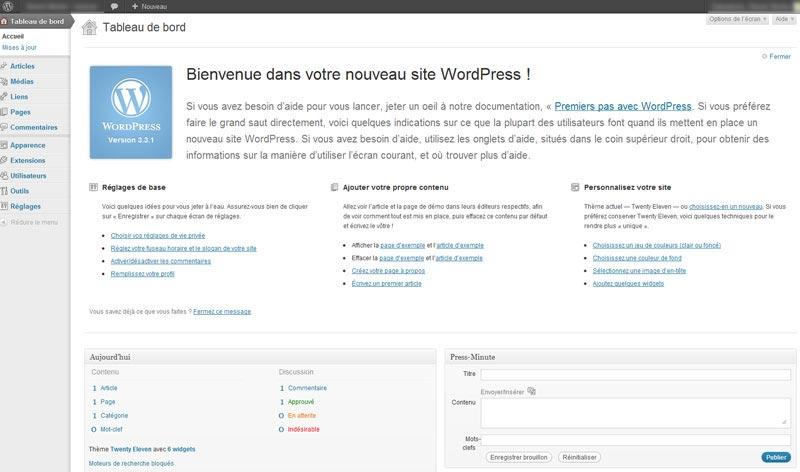 Pour les personnes calées en informatique, utiliser un logiciel libre comme WordPress est la solution préconisée. Ce logiciel permettant de créer son blog est le plus répandu dans le monde.