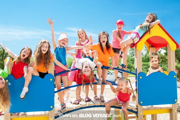 Un blog de voyage scolaire privé pour partager avec les parents tout en protégeant le droit à l'image des enfants