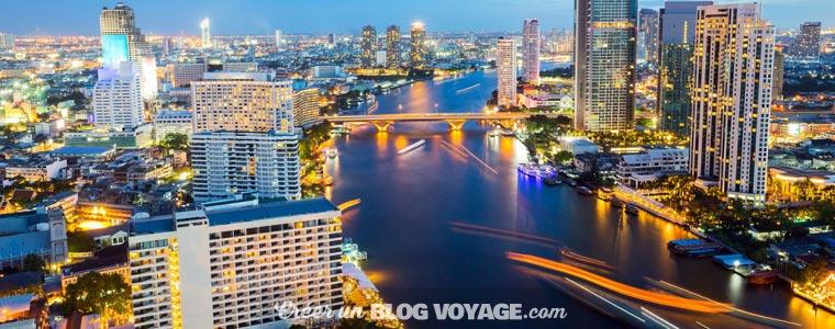 Organiser son voyage à Bangkok