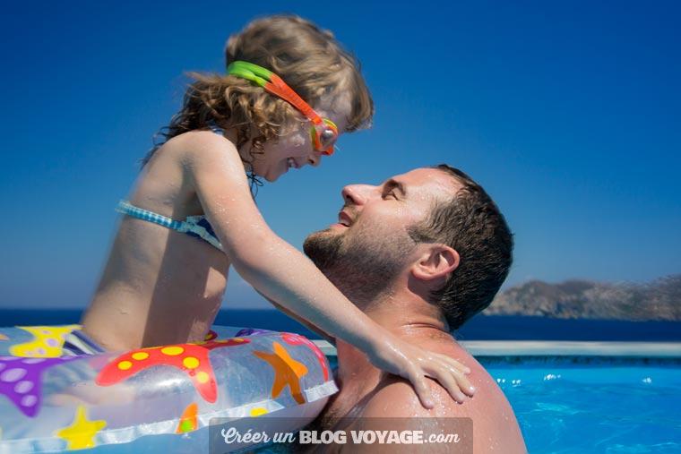 Partager ses photos de voyage à l'aide d'un blog privé par mot de passe garantit une vraie protection de la vie privée
