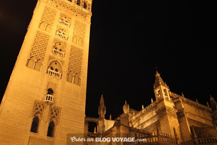 La cathédrale de Notre-Dame de Séville à visiter de jour comme de nuit