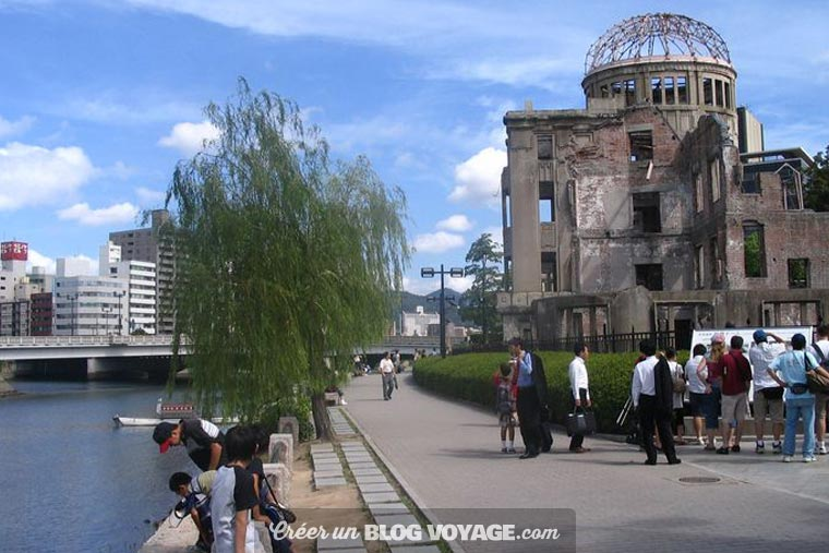 Le parc-mémorial de la Paix d'Hiroshima