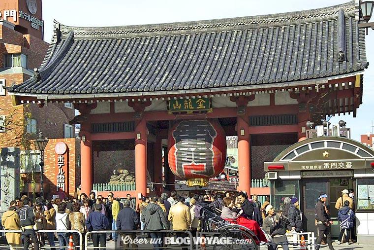 La porte de la foudre de Kaminarimon