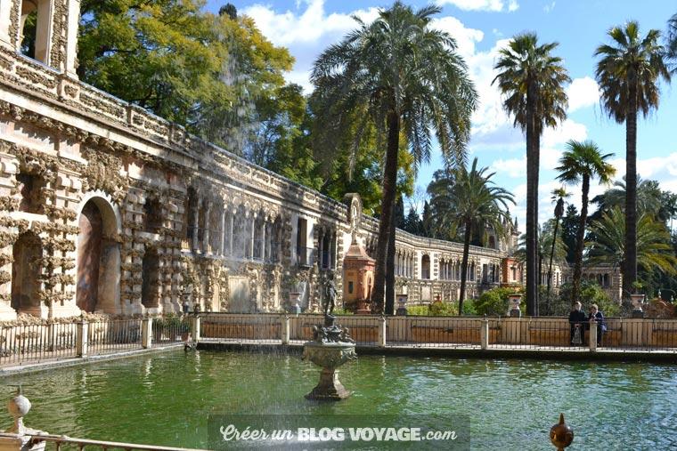 Andalousie : Séville abrite le magnifique palais de l'Alcazar