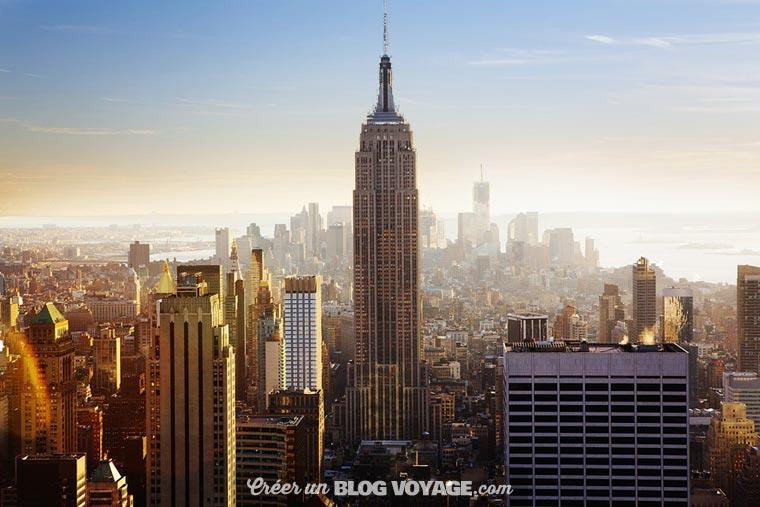 Profiter de la vue spectaculaire depuis l'Empire State Building