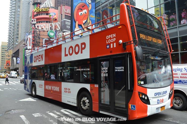 Visite hors du commun à bord d'un bus touristique Hop-on Hop-off