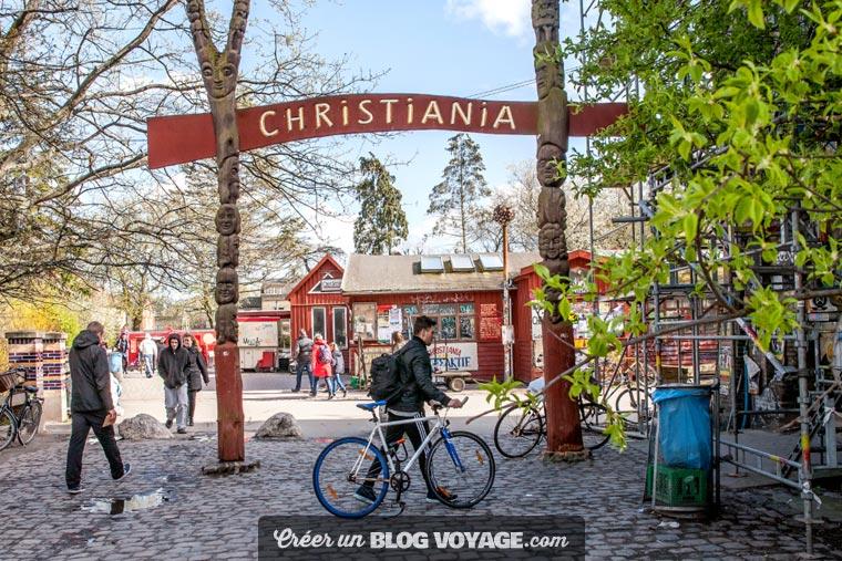 Christiania a été fondée en 1971 par des squatters et des hippies.