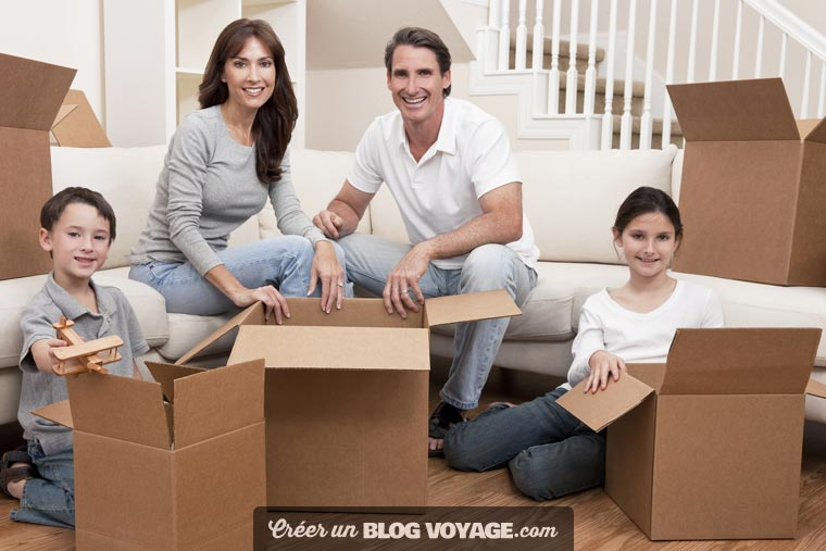 Partagez votre installation dans votre nouvelle maison et votre nouvelle vie avec vos proches est désormais possible, sans prendre de risque pour votre vie privée