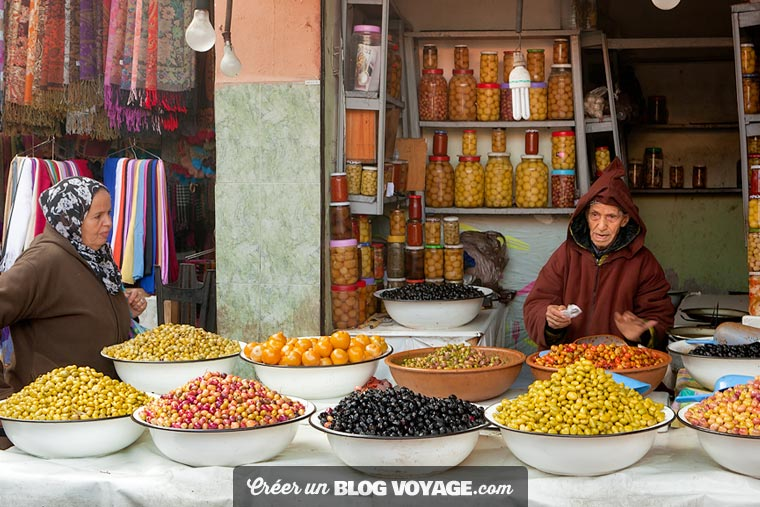 Voyage à Marrakech : La Visite des souks de Marrakech est le passage obligé de tout voyage dans la ville rouge