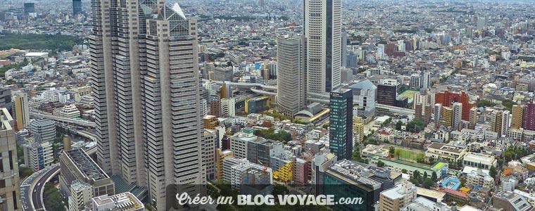 Partir au Japon : Tokyo est la ville où de nombreux projets de construction de gratte-ciel ont été réalisés. Depuis 2007, plus de 15 bâtiments de plus de 180 ont été construits.