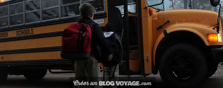 Blog voyage scolaire avec accès aux photos et aux vidéos par mot de passe